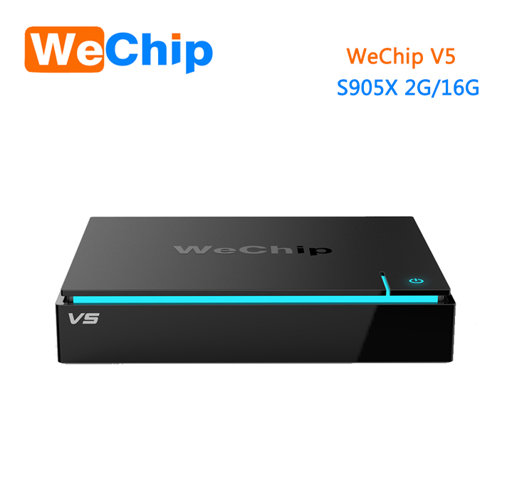 OEM JoinWe Android iptv <strong>set</strong> <strong>top</strong> <strong>box</strong> Wechip V5 S905X 2G 16G android 6.0 <strong>tv</strong> <strong>box</strong> accept oem