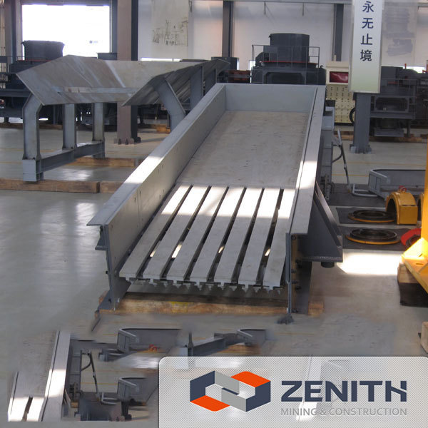 Zenith high efficiency Vibrating Feeder for stone and ore feeding