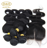 Wholesale 8a grade aliexpress hair brazilian hair, Cheap brazilian virgin hair bundles with lace closure