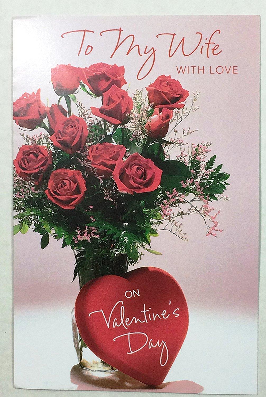 Buy valentine card for wife my beautiful wife by hallmark valentine card wifeto my wife with love on valentines day m4hsunfo