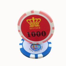High quality custom Gaming Casino ABS poker chips