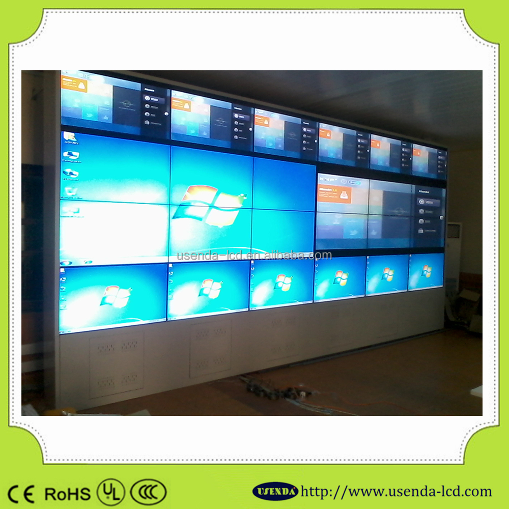 Hot sales Full HD with LED backlight with Samsung 55 inch seamless LCD splicing multi tv wall