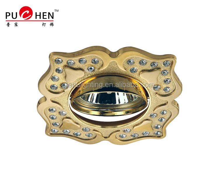 Low price Zinc alloy High Quality patch Ceiling LED light halogen mr16 12v zinc alloy spot light