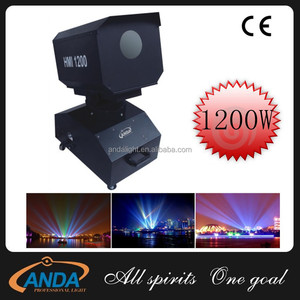 Outdoor IP44 HMI-1200W Sky Beam Rose Light For Outdoor Building Projection