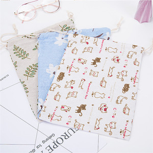 100% organic durable new design cheap cotton drawstring tote bag
