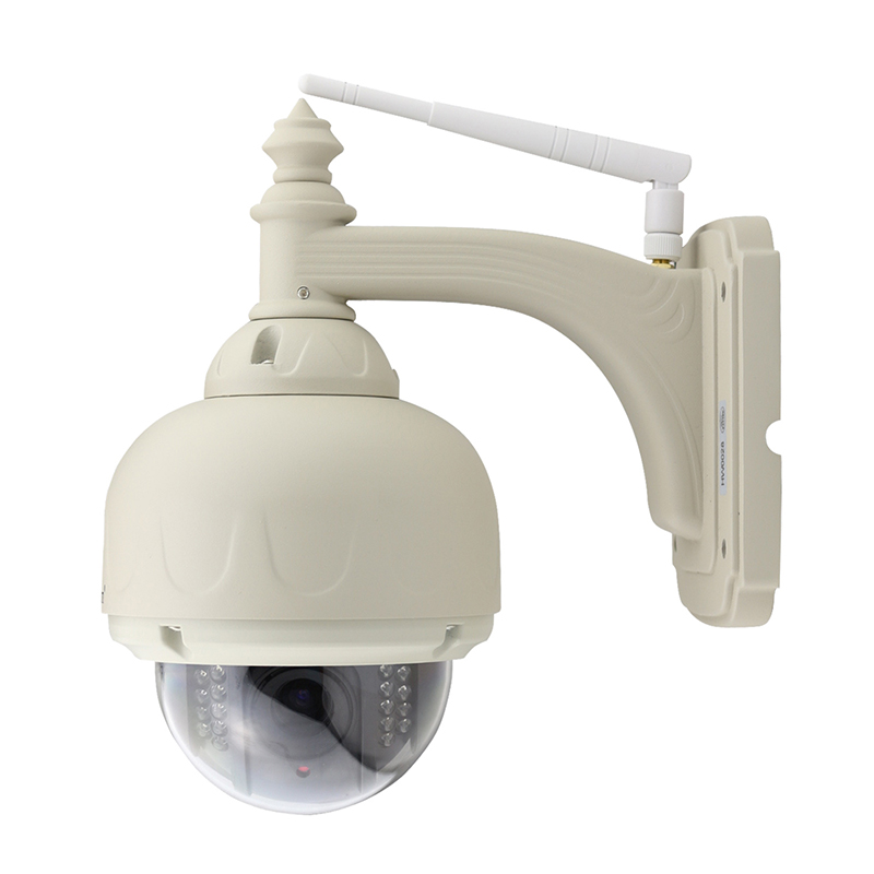 Wanscam - PTZ Wifi Wireless WaterProof Outdoor dome IP Camera With 5X Optical Zoom And IR-Cut