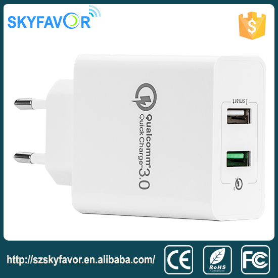 Ebay good price dual USB QC3.0 Wall Charger apply to all Mobile Phone charger for LG nokia phone