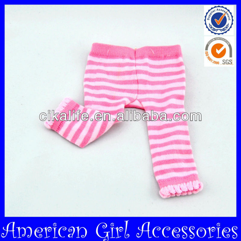 Hot sale Eco-friendly doll legging in toy accessories