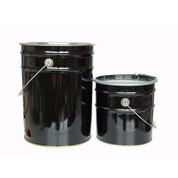 18L 20Liter metal tinplate paint bucket pail with lid