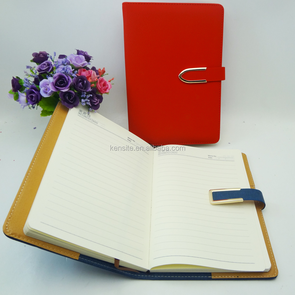personalised high quality fashion note book for women