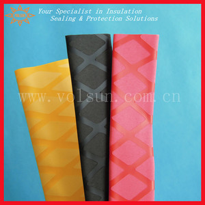 Colorful fishing rod sleeves