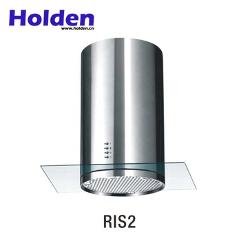 Modern New Design 600mm Commerical Island Range Hood With Parts