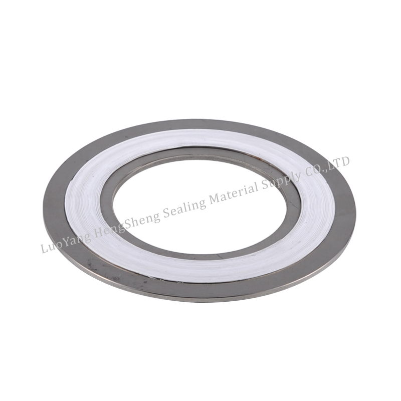corrosion resistance outer ring spiral wound gasket ss 304 ptfe with ring