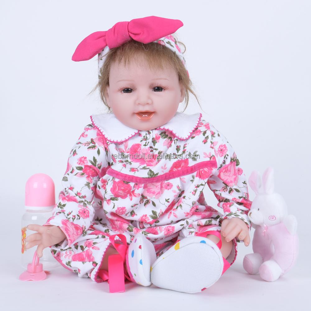 Baby alive muñeca silicona reborn muñeca bebé muñeca niños jugar ...