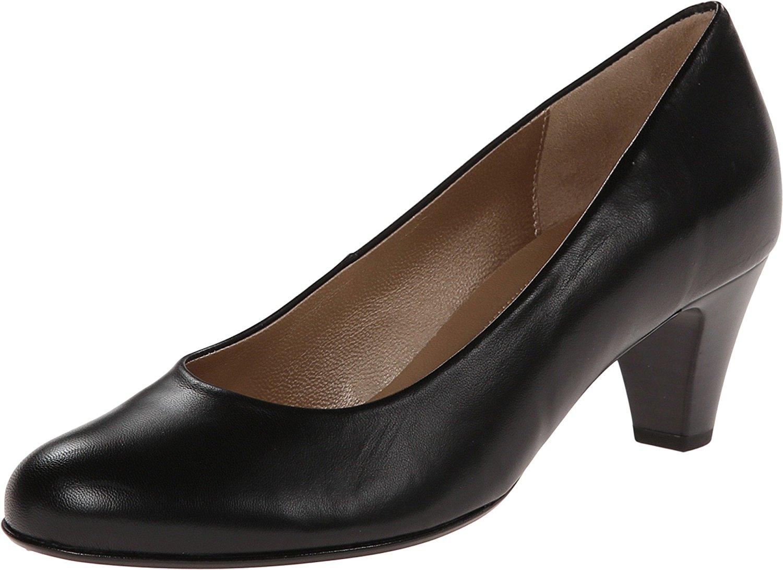 3c1208850fd2 Get Quotations · Gabor Gabor 0.5200 Schwarz Kid Women s 1-2 inch heel Shoes