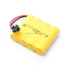ni-cd Rechargeable AA battery NICD 500mAh 4.8V rechargeable battery pack for solar light