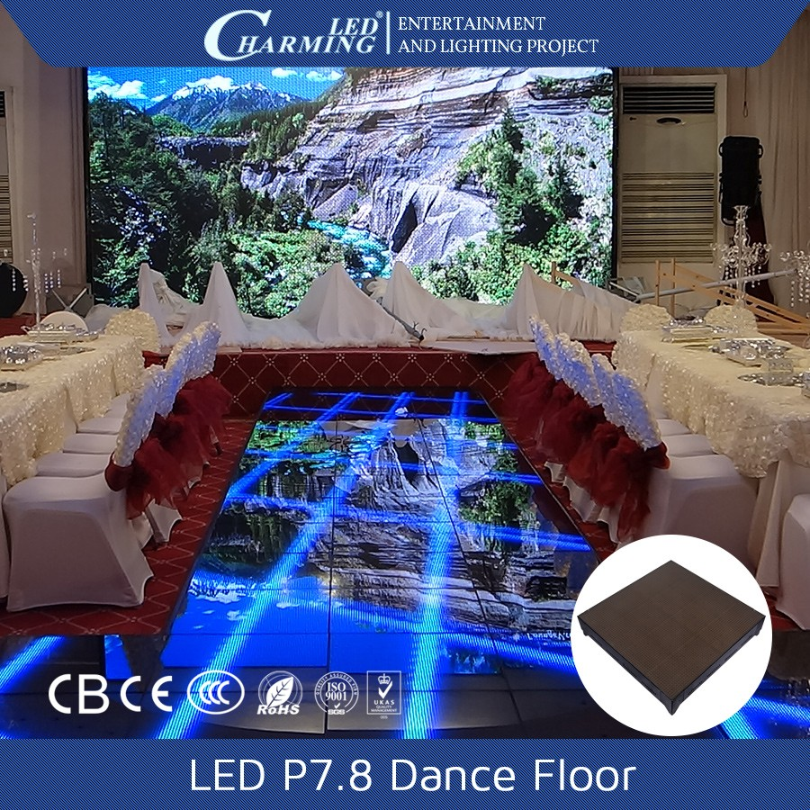 Export kwaliteit night club disco led video dansen floor voor concert podium/wedding party