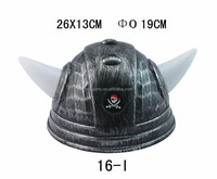 Man Hat High Quality Custom Carnival Party Plastic Viking Helmet Horned Devil Hat