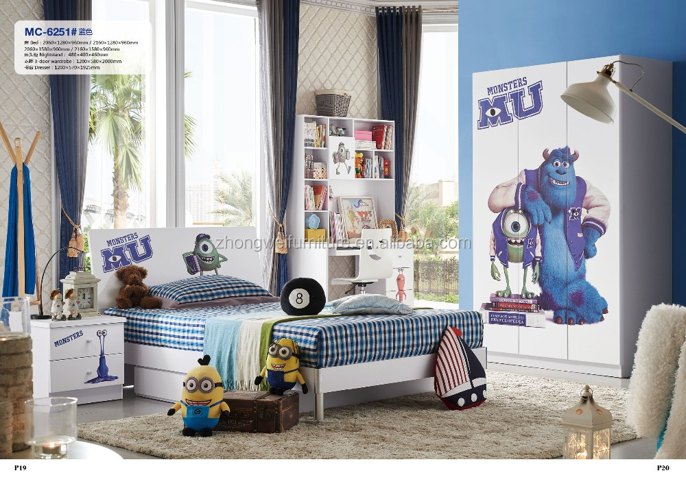 Foshan Kids Furniture Bedroom Furniture Manufacturer