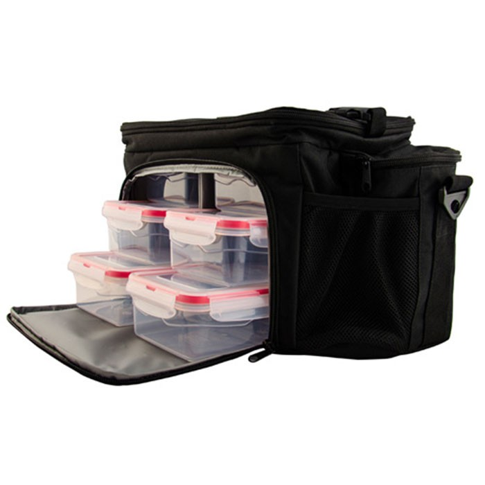 New 6 meal management system insulated cooler bag for frozen food, insulated lunch bag