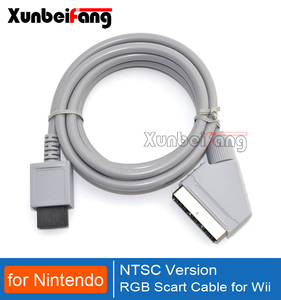 NTSC Version RGB Scart Cable for Wii