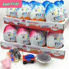 8PCS Good Taste Chocolate Eggs Surprise Toy Candy