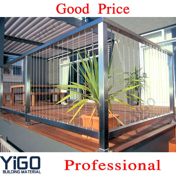 Stainless Steel Cable Railing Systems / Railing Stainless Steel ...