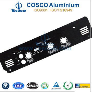Aluminium Faceplate For Audio Equipment
