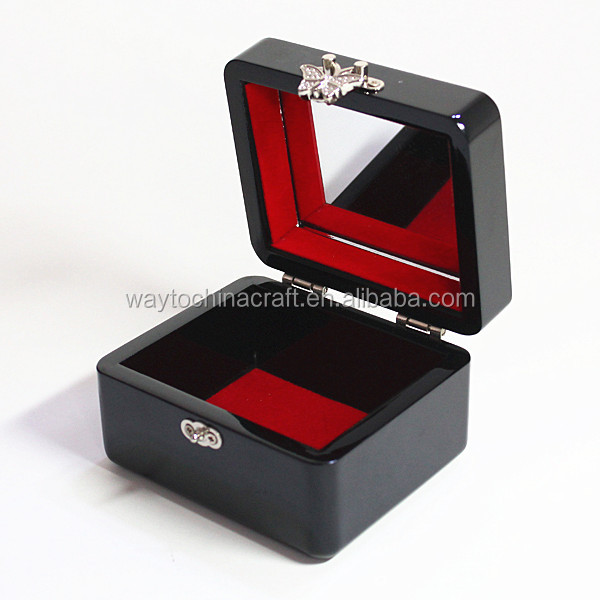 High end making wooden jewelry boxes