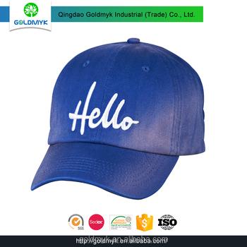 55d2989be95 China Hat Manufacturer Wholesale Baseball Cap Supplier Custom Embroidery 6  Panel Cap - Buy Cap