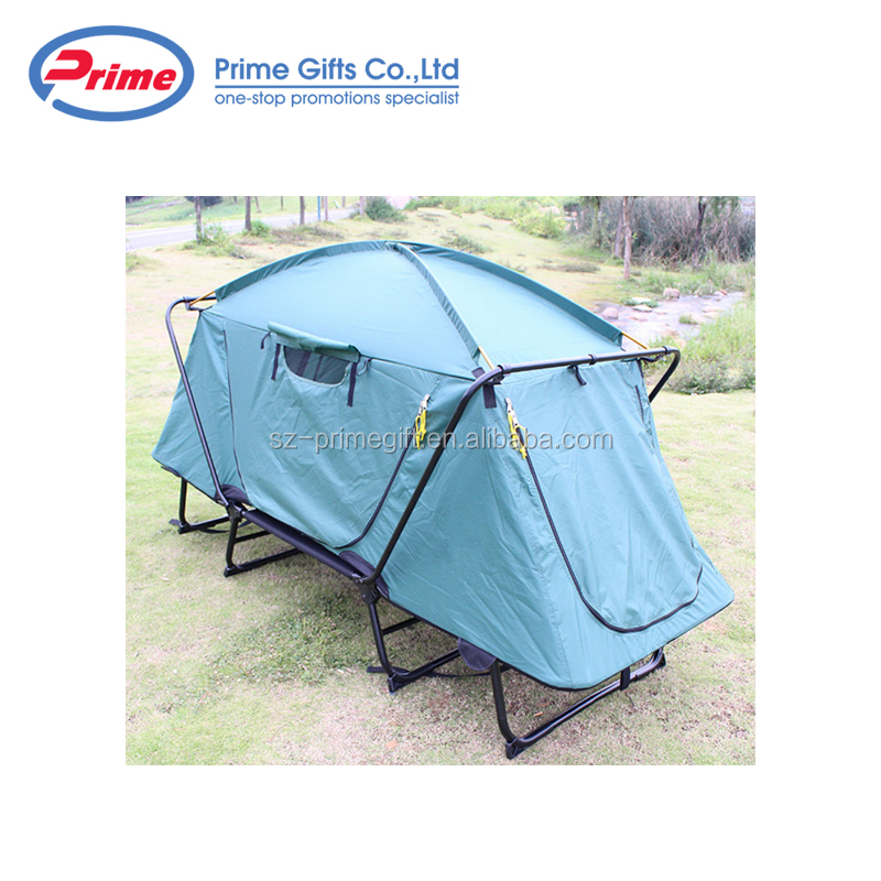 One Person Outdoor Waterproof Folding Camping Tent With Bed