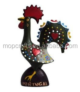 Portugal resin fridge magnet roosters Barcelos Roosters