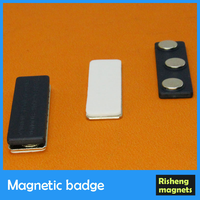 magnetic receptive badge magnetic adhesive magnetic dot