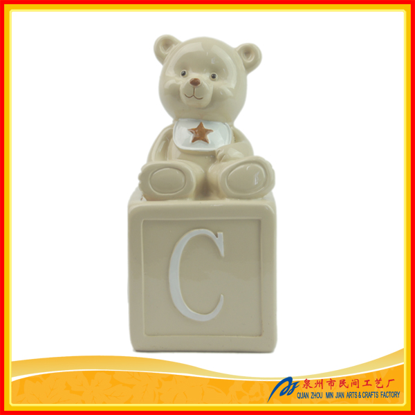 2016 Hot Sell Kids Money Box Resin, Personalized Money Bank