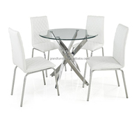 Hot sale fashion design dining table and chairs