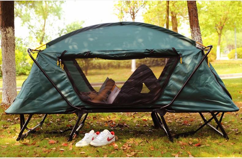 Single military folding iron compact c& rite k&-rite tent cot & Single Military Folding Iron Compact Camp Rite Kamp-rite Tent Cot ...