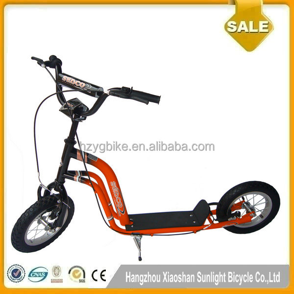 Original Manufactur Cheap 2 Spoked Wheels Kids Push Scooters for sale