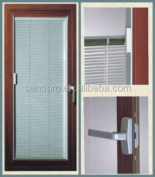 Window Blind casement window blinds : Double Tempered Glass Aluminum Window With Internal Blinds - Buy ...