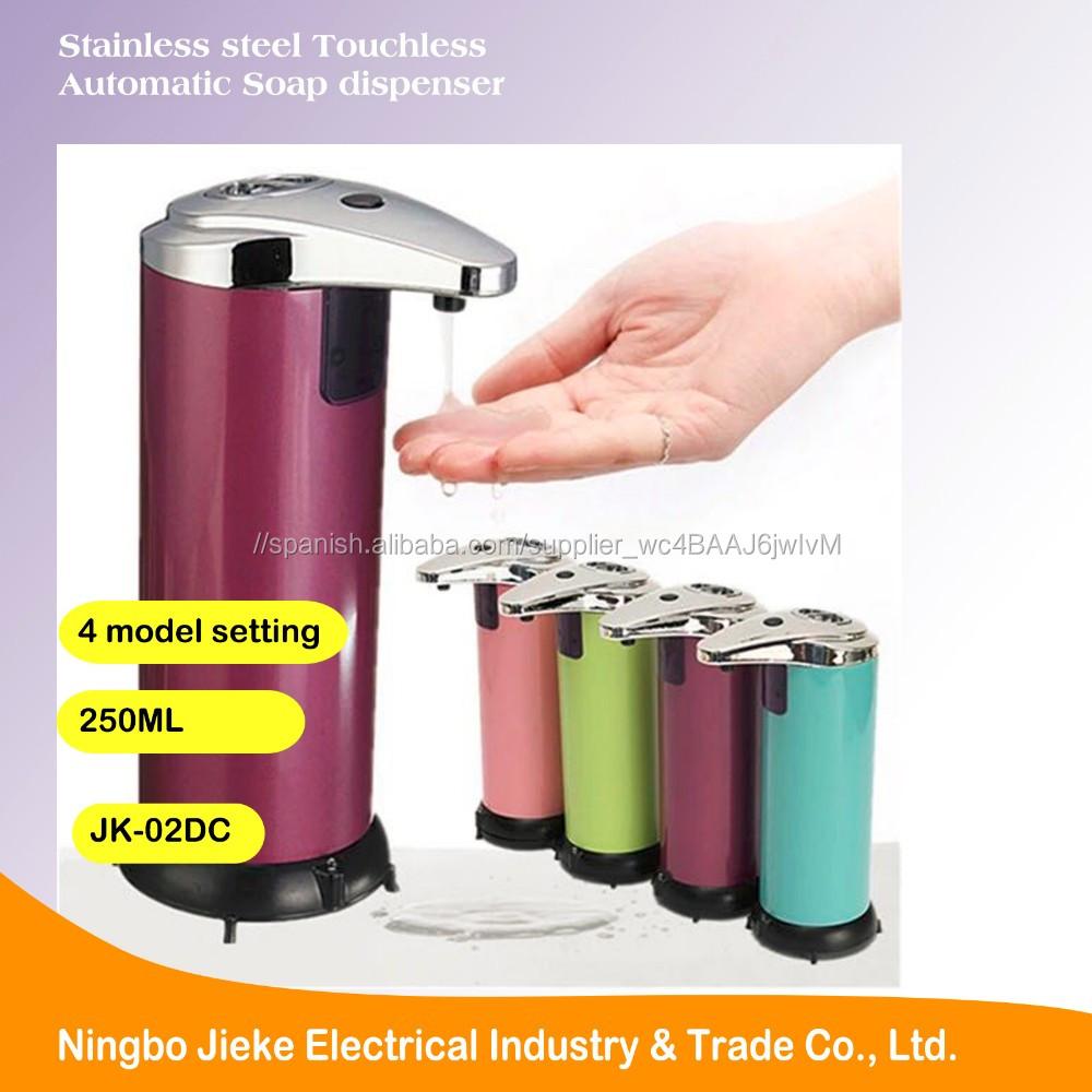 Sensor de Movimiento de Acero inoxidable Dispensador de Jabón ...