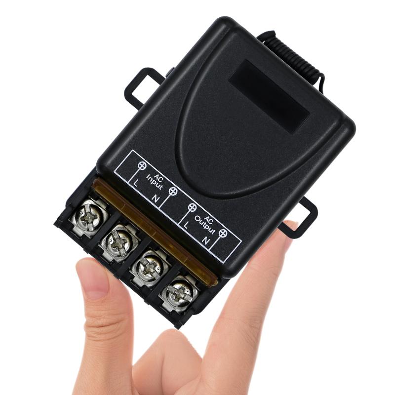 80 250v Long Range Remote Switch Rf Remote Control 30a