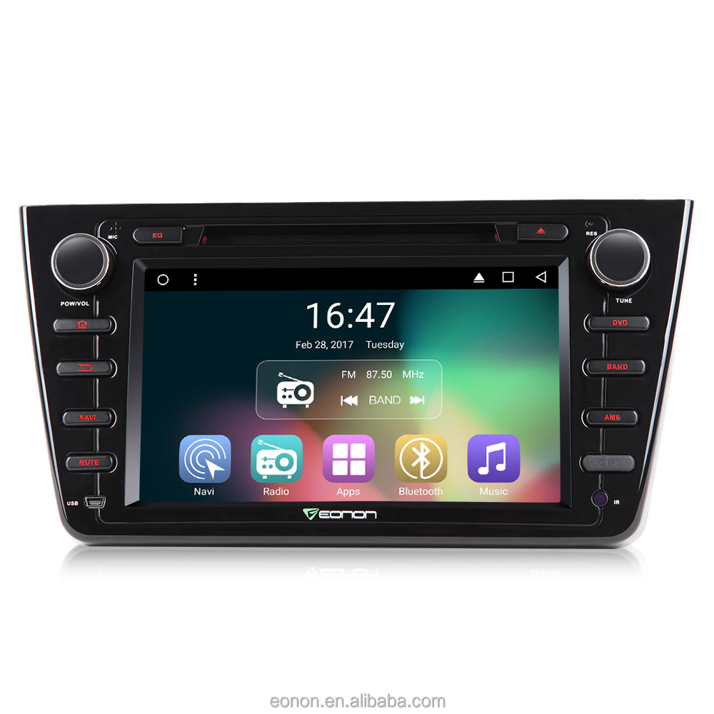 Eonon Ga7198 For Mazda 6 2009-2012 Android 6 0 8 Inch Multimedia Car Dvd  Gps With Mutual Control Easyconnected - Buy Android 6 0 Quad-core,Car Gps
