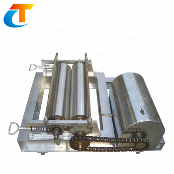 Glass Frit Roller Crusher Forming Machine