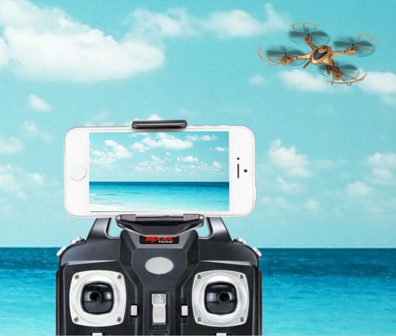Newest RC Drone MJX X401H WIFI FPV Real time Air Pressure High Headless APP phone control