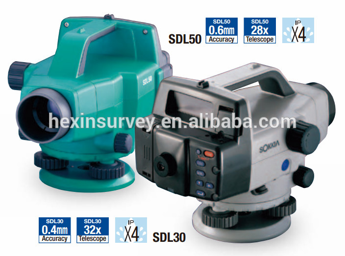 Sokkia SDL50 Auto Level Instrument with High Speed Measurement