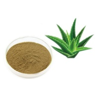 Natural aloe vera leaf extract including cosmetic ingredients aloe vera powder