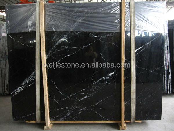 noir et nero marquina marbre plaque bon prix chinois pas cher noir dalle de marbre et carrelage. Black Bedroom Furniture Sets. Home Design Ideas