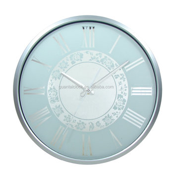 13 Crazy Price Arched Glass Wall Clock With Plastic Frame For Decor