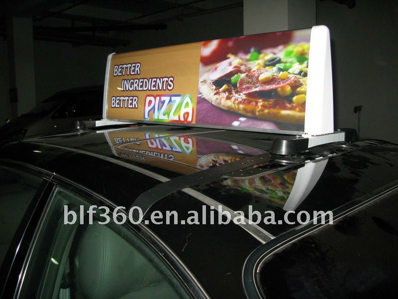 Slim Taxi Light/Advertising Box CDL-100,CDL-120