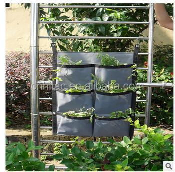 Vertical Hanging Garden Planter Vertical Garden Wall Pocket Planter