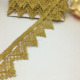 sewing craft gold braid fringe metallic lace trim